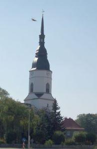 Gotische Kirche Großthiemig