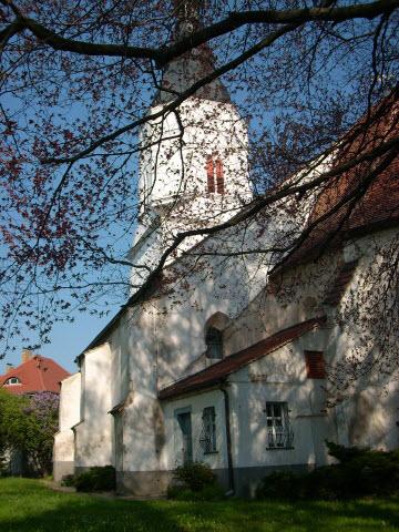 Kirche Rueckseite