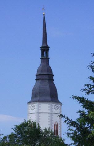 Kirche Turm Fern