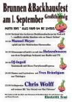 Brunnen- und Backhausfest 2012