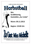 Herbstball 2013