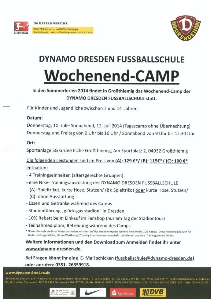 Dynamocup in Großthiemig