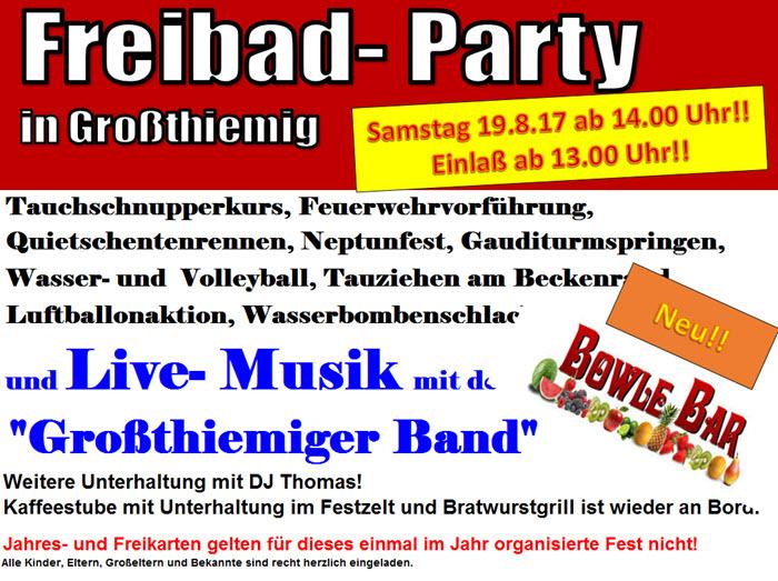 2017 Freibadparty in Großthiemig